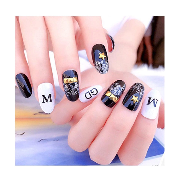 Nail sticker water transfer nail sticker non toxic nail sticker custom