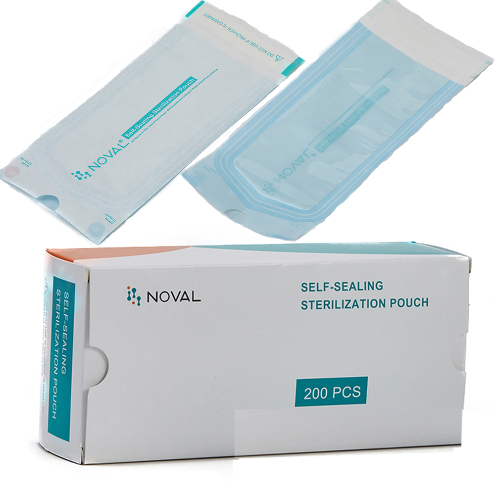RTS disposable autoclave medical self-sealing sterilization pouch for nail salon