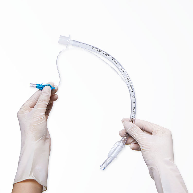 OEM PVC Cuffed Reinforced Nasal Disposable Medical Endotracheal Tubes Intubation Sterilization with Cuff Endotracheal tubes