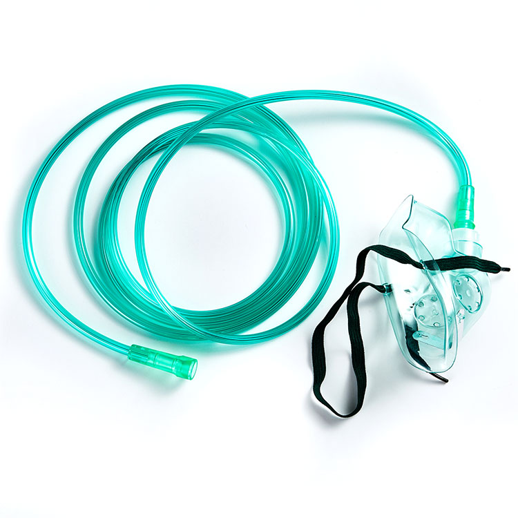 Wholesale Nasal Oxygenator Nose Masks Adult Portable Disposable Gas Medical Oxygen Mask Factory